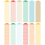 American Crafts - Becky Higgins - Project Life - Jade Edition - Designer Dividers - 12 Pack, COMING SOON