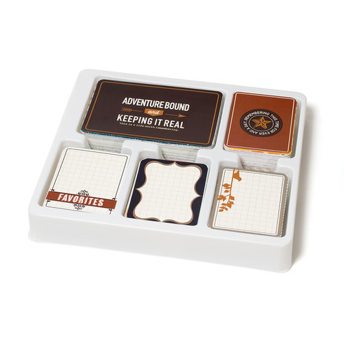 Becky Higgins - Project Life - Cinnamon Collection - Core Kit