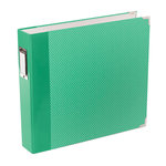 Becky Higgins - Project Life - Jade Collection - Album - 12 x 12 D-Ring - Jade