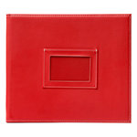 American Crafts - Becky Higgins - Project Life - Faux Leather Mini Album - Cherry, COMING SOON