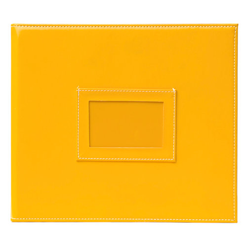 Becky Higgins - Project Life - Faux Leather Mini Album - Sunflower