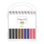 American Crafts - Becky Higgins - Project Life - Journaling Pen Set - 18 Pack with Storage Case, COMING SOON
