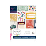 Becky Higgins - Project Life - Bohemian Adventure Collection - 3 x 4 Card Pad