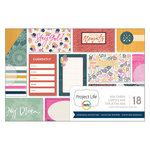 Becky Higgins - Project Life - Bohemian Adventure Collection - 4 x 6 Card Pad