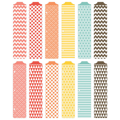 Becky Higgins - Project Life - Kraft Collection - Designer Dividers - 12 Pack