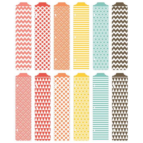 Becky Higgins - Project Life - Kraft Collection - Designer Dividers - 12 Pack