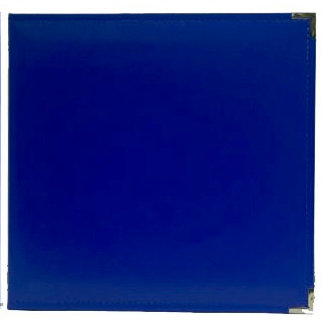 American Crafts - Becky Higgins - Project Life - Faux Leather Album - 12 x 12 - D-Ring - Cobalt