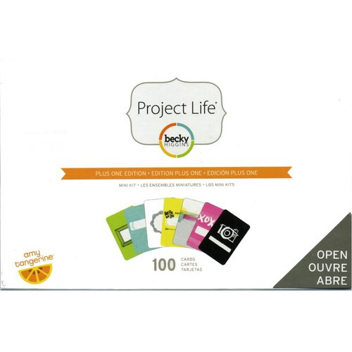 Becky Higgins - Project Life - Amy Tangerine Collection - Mini Kit - Plus One