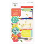 Becky Higgins - Project Life - Desktop Edition Collection - Chipboard Stickers