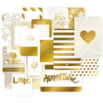 Becky Higgins - Project Life - Specialty Themed Card Pack - Golden