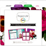 Becky Higgins - Project Life - 6 x 8 Filler Pack - Weekly Planner Pages