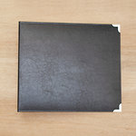 Becky Higgins - Project Life - Classic Leather - 12 x 12 - Three Ring Album - Midnight