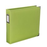 Becky Higgins - Project Life - Faux Leather - 12 x 12 - D-Ring Album - Kiwi