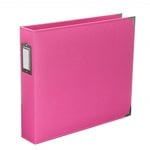 Becky Higgins - Project Life - Classic Leather - 12 x 12 - Three Ring Album - Blush