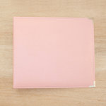 Becky Higgins - Project Life - Classic Leather - 12 x 12 - Three Ring Album - Baby Pink