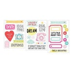 Becky Higgins - Project Life - High Five Edition Collection - Chipboard Stickers