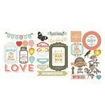 Becky Higgins - Project Life - Adventure Edition Collection - Chipboard Stickers