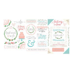 Becky Higgins - Project Life - Southern Weddings Edition Collection - Chipboard Stickers