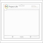 Becky Higgins - Project Life - 6.75 x 8.25 - Zipper Pockets