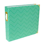 Becky Higgins - Project Life - Album - 12 x 12 D-Ring - Mint Chevron