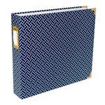 Becky Higgins - Project Life - Album - 12 x 12 D-Ring - Navy Weave