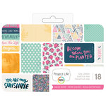 Becky Higgins - Project Life - 4 x 6 - Theme Cards - Inked Rose