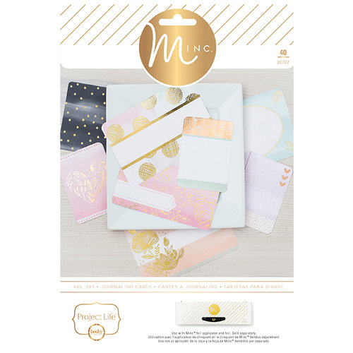 Becky Higgins - Project Life - MINC Collection - Themed Cards - Charming