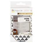 Becky Higgins - Project Life - Golden Edition Collection - Instax Mini - Chipboard Photo Frames