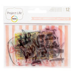 Becky Higgins - Project Life - Inspire Edition Collection - Instax Mini - Die Cut Acetate Shapes