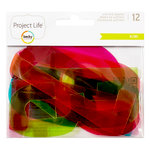 Becky Higgins - Project Life - Kiwi Edition Collection - Instax Mini - Die Cut Acetate Numbers