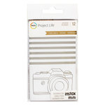 Becky Higgins - Project Life - Golden Edition Collection - Instax Mini - Foil Dividers
