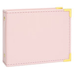 Becky Higgins - Project Life - Instax - Album - 4.5 x 5 D-Ring - Faux Leather - Baby Pink