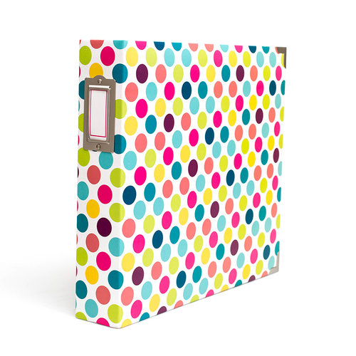 Becky Higgins - Project Life - Album - 12 x 12 D-Ring - Bold Dots