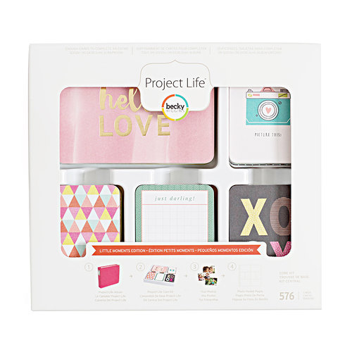 Becky Higgins - Project Life - Little Moments Edition Collection - Core Kit