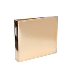 Becky Higgins - Project Life - Album - 8 x 8 D-Ring - Gold
