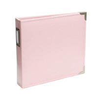 Becky Higgins - Project Life - Album - 8 x 8 D-Ring - Baby Pink