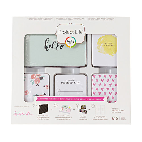 Becky Higgins - Project Life - Fresh Edition Collection - Project 52 - Core Kit