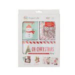 Becky Higgins - Project Life - Christmas - Value Kit - Holly Jolly - Red Foil