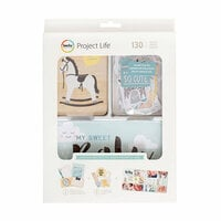 Becky Higgins - Project Life - Little You Boys Collection - Value Kit with Foil Accents