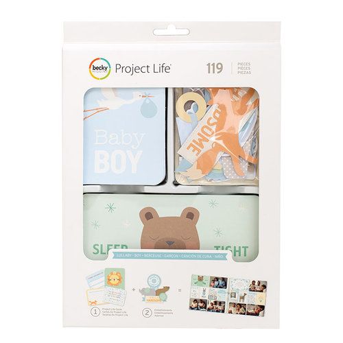 Becky Higgins - Project Life - Lullaby Boy Collection - Value Kit