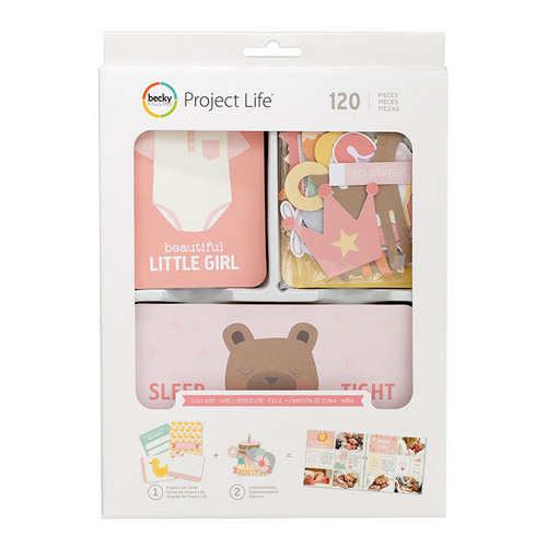 Becky Higgins - Project Life - Lullaby Girl Collection - Value Kit
