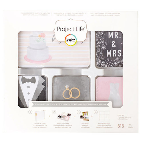Becky Higgins - Project Life - Wedding Collection - Core Kit