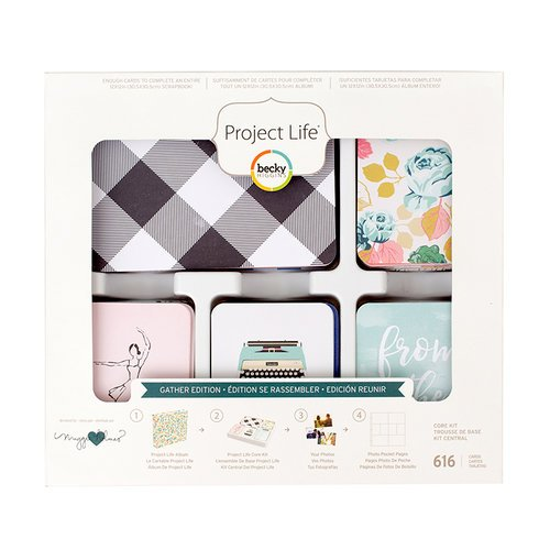 Becky Higgins - Project Life - Gather Edition Collection - Core Kit