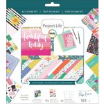 Becky Higgins - Project Life - Oh My Heart Collection - All In One Kit