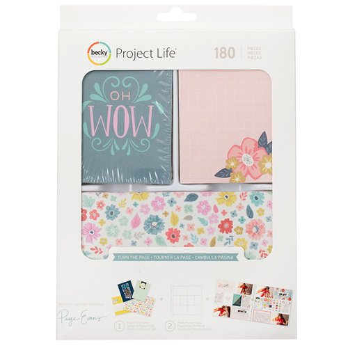 Becky Higgins - Project Life - Turn the Page Collection - Value Kit