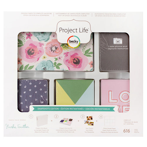 Becky Higgins - Project Life - Snapshots Edition Collection - Core Kit