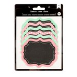 American Crafts - Chalkboard Stickers - Labels - Pattern