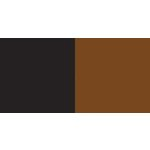 Imaginisce - Milk Paint - 2 Pack - Black and Brown