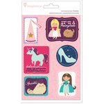 Imaginisce - Little Princess Collection - Sticker Stacker - 3 Dimensional Stickers