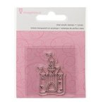 Imaginisce - Little Princess Collection - Snag 'em Acrylic Stamps - Castle